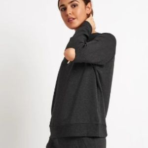 Beyond Yoga Slashes Raglan Pullover
